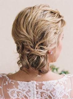 Beautiful updo: http://www.stylemepretty.com/2015/05/20/charming-southern-wedding-elegance-in-charleston/ | Photography: Ashley Cox - http://ashleypcox.com/: