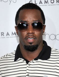 Puff Daddy in 1980's Steroflex Sunglasses from Silver Lining Opticians