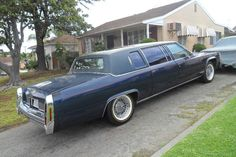 1980 Cadillac Fleetwood Formal Limousine
