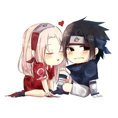Sasuke kum e Sakura chan