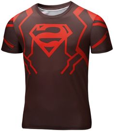 fa3dfa3b4027 Awesome Sport t-shirt Alternative Logo Superman DC GYM Workout Gear Fast  dry – Search