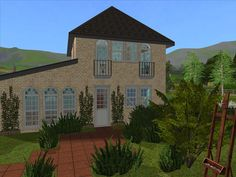 Sims Games, Sims Ideas, Mansions, House Styles, Home Decor, Decoration Home, Manor Houses, Room Decor, Villas