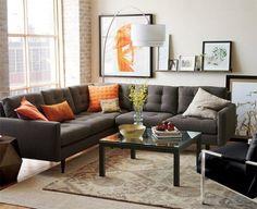 Pensando en comprar un sofá para la sala o en tapizar el sofá? No sabes que color escoger? Encuentra aquí 10 razones por las que debes escoger un sofá gris