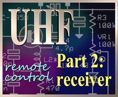 UHF Remote Control Receiver