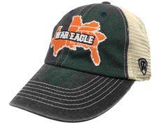 Auburn Tigers TOW Navy SEC War Eagle Mesh Adjustable Snapback Hat Cap