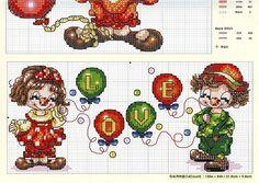 Girl Clown Part 2 Free Pattern