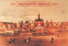 Independence - seat of Jackson County in the early 1850s. Independence was also the outfitting point for the Santa Fe Trail, which traversed Jackson County along 2 routes far south of John Calvin McCoys store. McCoy's store would be a border emporium, like a convenience store on some lonely highway today. Santa Fe Trail, John Calvin, Kansas City Missouri, Oregon Trail, Great Places, History, Lonely, Convenience Store, Jackson