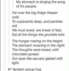 THE SONG OF MY PEOPLE #AlwaysHungry