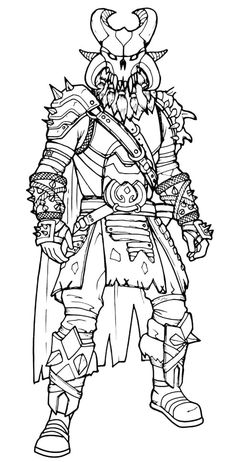 Free Black Knight Posing Skin Fortnite Coloring Page For