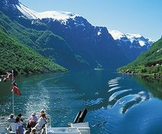 Sognefjord The Sognefjord, situated in the middle of Fjord Norway, extends all of 204 km inland and contains some of the wildest and most beautiful scenery in Norway