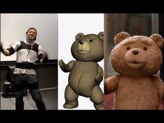 "A revealing and funny behind the scenes for the movie ""ted"" using motion capture system MVN. See Seth Macfarlane get into a Xsens MVN Motion Capture rig and . Seth Macfarlane, Motion Capture, Visual Effects, Tigger, Bowser, Behind The Scenes, Disney Characters, Fictional Characters, Teddy Bear"