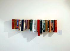 plank van boeken