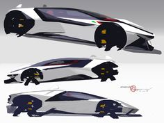 An MR Lamborghini proposal inspired by the . Car Design Sketch, Car Sketch, Muscle Cars, Futuristic Cars, Car Drawings, Batmobile, Transportation Design, Automotive Design, Motor Car