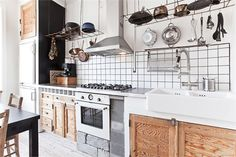 A fun mix of modern & traditional!