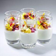 Opalys White Chocolate Namelaka ,Lemon Cremeux , Raspberry Pudding, Crumble #valrhona #bachour | Flickr - Photo Sharing!