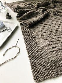 Fifty Four Ten Studio: Stay on the Ridge - New Blanket Knitting Pattern