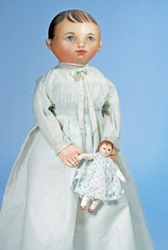 91: SUSAN FOSNOT, OOAK ARTIST, COLUMBIAN CLOTH DOLLS : Lot 91