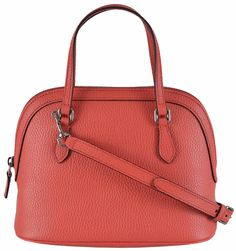 Gucci New 341504 Textured Leather Convertible Mini Coral Red Cross Body Bag. Get the trendiest Cross Body Bag of the season! The Gucci New 341504 Textured Leather Convertible Mini Coral Red Cross Body Bag is a top 10 member favorite on Tradesy. Save on yours before they are sold out!