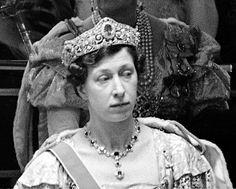Mary,Princess Royal and Countess of Harewood at the Coronation of George VI,1937