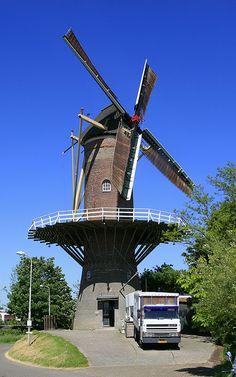 Flour mill De Hoop, Wolphaartsdijk, the Netherlands