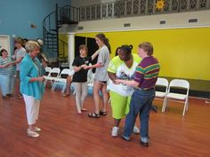 Young Adults with Down Syndrome Learn Ballroom Dancing