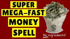 SHOCKING *Mega Fast* MONEY SPELL Really REALLY Works! (Awesome Spell for Money) - YouTube