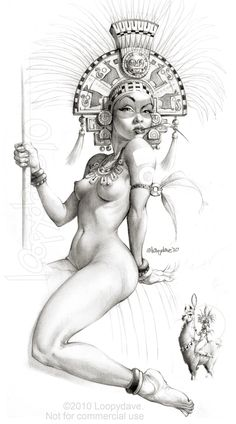 Llama Queen by *Loopydave on deviantART