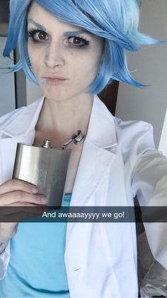 """liziferous: """"What's up, my glib globs?! Threw together another genderbend cosplay because being crazy old dudes is apparently my thing now.. I'm okay with it! Cosplay: Rick Sanchez (Rick &..."""