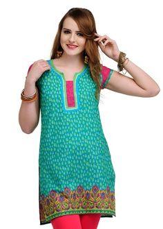Yepme Women's Kurti - Green