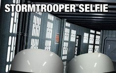 Photographic Proof That Stormtroopers Have Terrible Aim - Star Wars