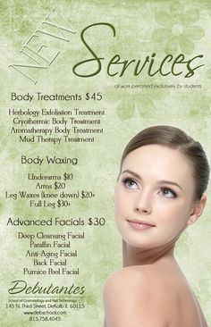 Rack cards designed by autumn olson vistaprint esthetician rack cards designed by autumn olson vistaprint esthetician pinterest facial skin care spa and estheticians reheart Gallery