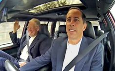 84 best comedians in cars images comedians jerry seinfeld jerry rh pinterest com