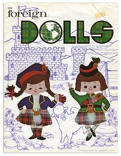 Vintage Crafts: Foreign Dolls