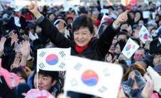 Park Geun-hye es la primera mujer presidente de Corea del Sur