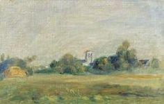 Pierre-Auguste Renoir, Clocher d'Essoyes
