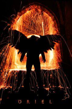 Uriel fallen angels and gods of fire