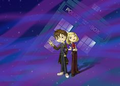 Doctor and Rose by ~thedustyphoenix on deviantART