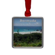 Horseshoe Bay Beach, #Bermuda #Ornament sold in CT