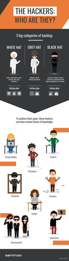 Hackers profiles - Who they are?  [Infographic]