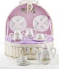 Basket Tea Sets