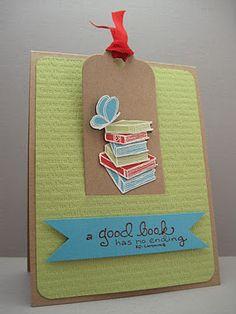 Bookmark in a card - Jen W