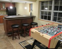 Spaces Basement Bar Design, Pictures, Remodel, Decor and Ideas - page 30