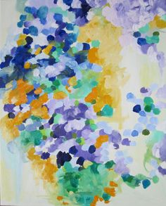 original oil abstract on 24x30 canvas by by KerrySteelefineart, $490.00