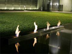 Bioethanol Outdoor Fireplace MAIA - Acquaefuoco Wellness Mood