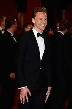 Hands...... {Tom Hiddleston - Only Lovers Left Alive Premiere - The 66th Annual Cannes Film Festival}