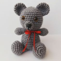 Ursinho de croche - Lulu Crochê