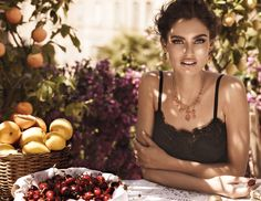 Dolce & Gabbana Jewellery Mamma campaign featuring Bianca Balti, shot by Giampaolo Sgura