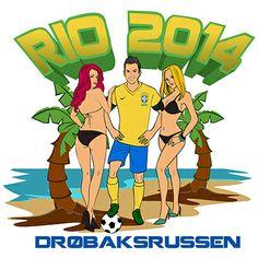 Ny russe design Rio 2014! Rio, Logo Design, Comic Books, Comics, Logos, Cover, Fictional Characters, Comic Strips, Logo