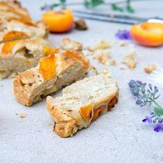 Ontbijtcake met abrikoos en perzik (kan ook met appel en rabarber)