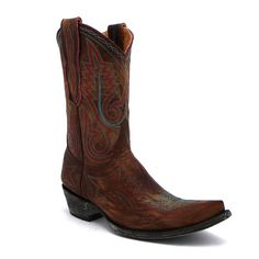 "Old Gringo 10"" Brass Nevada Boot at Maverick Western Wear"